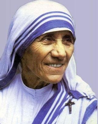 Um coração alegre é a expressão normal de um coração que arde em amor. - Madre Teresa