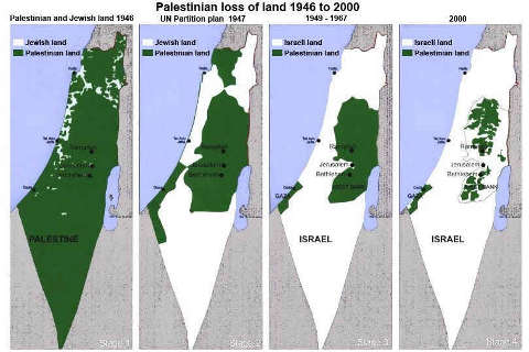 israel steal Palestine territory