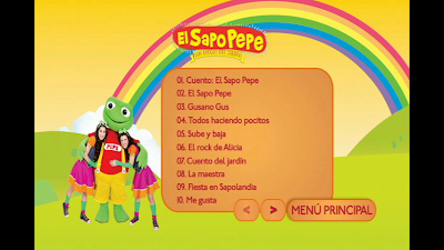 El sapo pepe los amigos del jardin vol 2 dvdr latino 2012 for Amigos del jardin