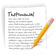 Please leave a testimonial!