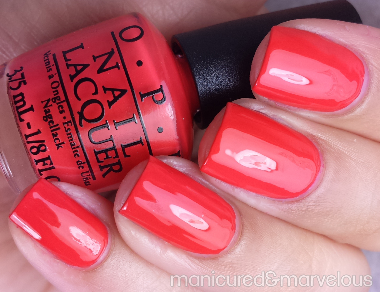 opi spring 2015 hawaii mini collection swatches review manicured