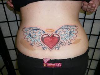 modern heart tattoos