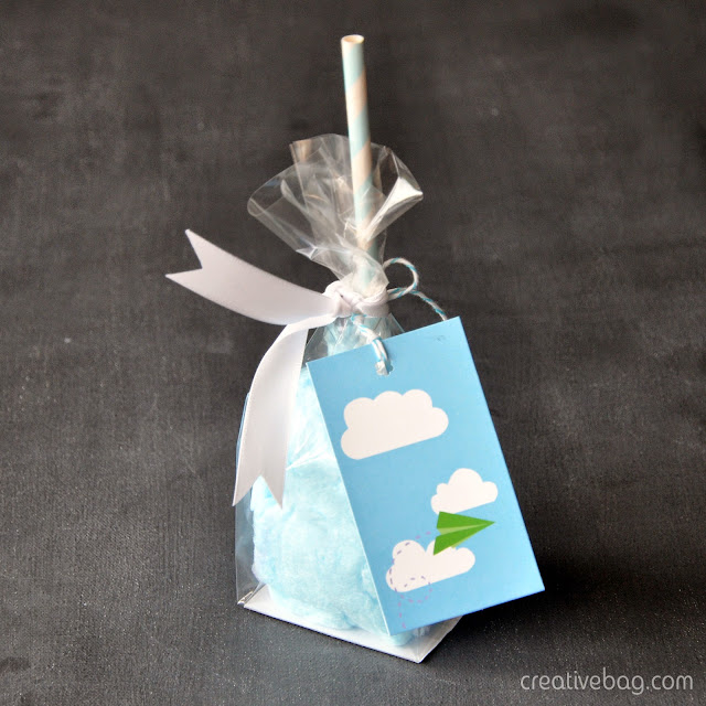 cotton candy favor packaging | Creative Bag