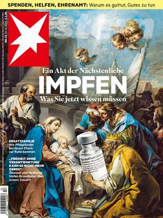 Fără cuvinte: Coperta numărului de Crăciun al celei mai populare reviste din Germania, Stern