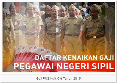 Kenaikan Gaji  PNS TNI POLRI 2015