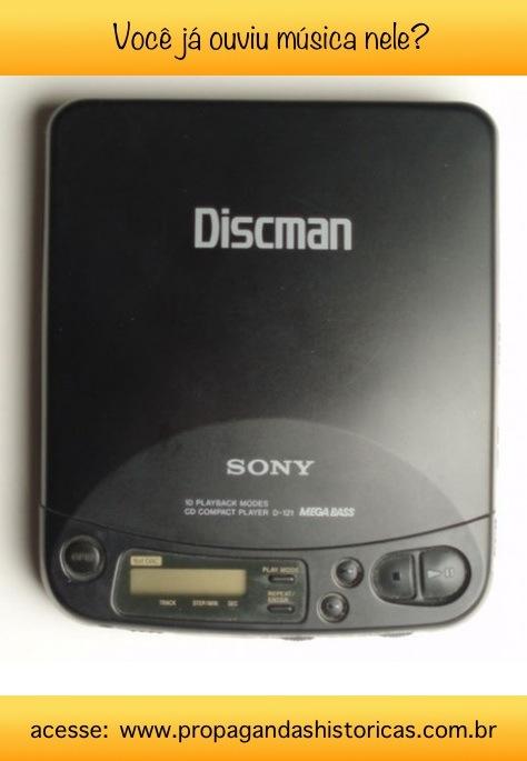 História do Discman: sucesso entre jovens dos anos 90, antes de surgir o MP3.