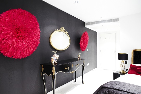 Chambre Rouge Noir Et Blanc - Amazing Home Ideas - freetattoosdesign.us