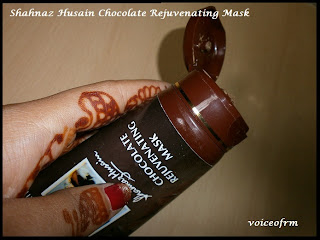 Shahnaz Husain Chocolate Rejuvenating Mask Images, review