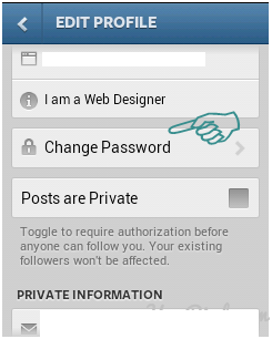 How to Change Password and Email Instagram on Android and PC 2