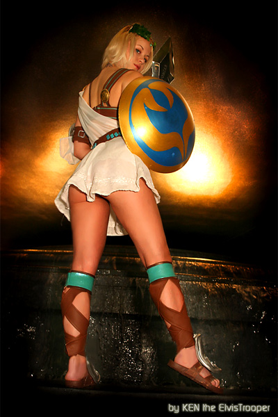 Sophitia Soul Calibur III Cosplay