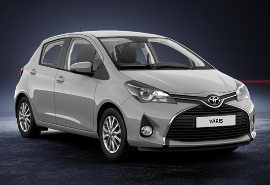 Toyota Yaris Iii 2017 Couleurs Colors