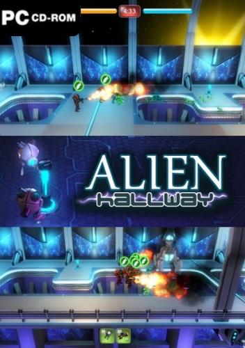 Download Alien Hallway Free mediafire -3D Games Download