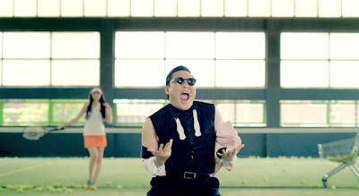 Psy Gangnam Style tennis