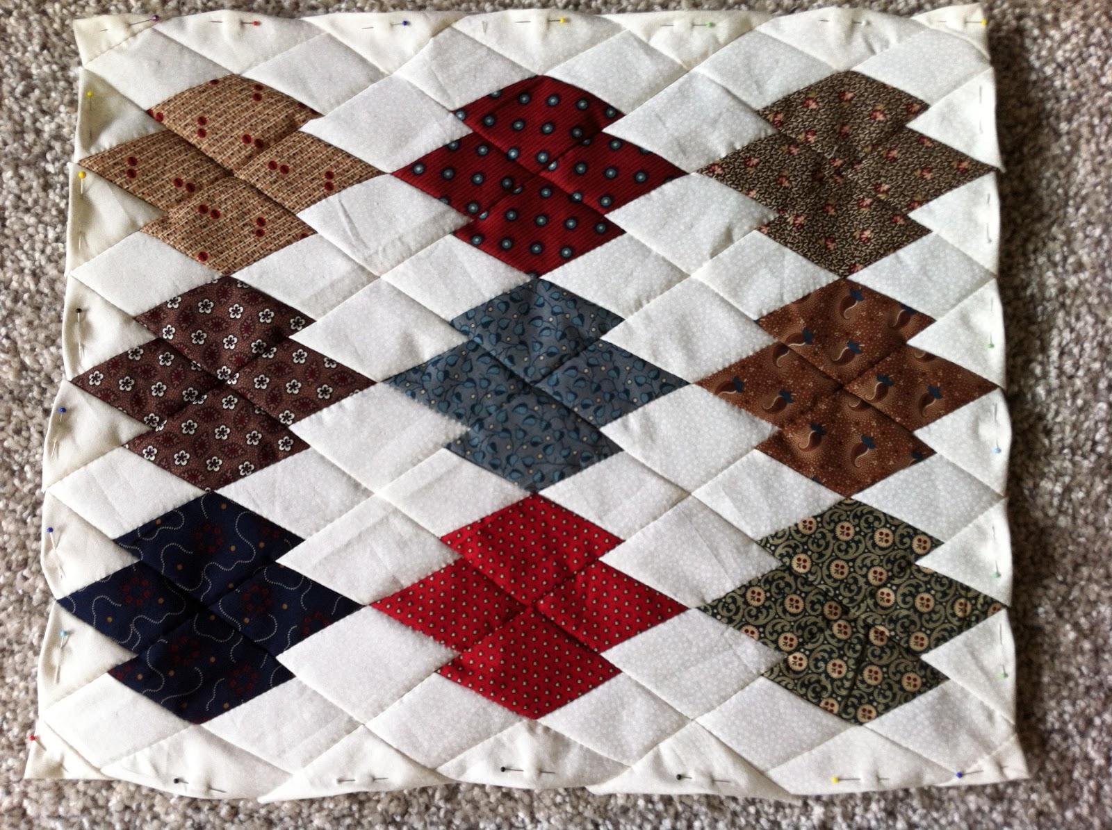 Quilt elle leuk werkje for Quilt maken met naaimachine