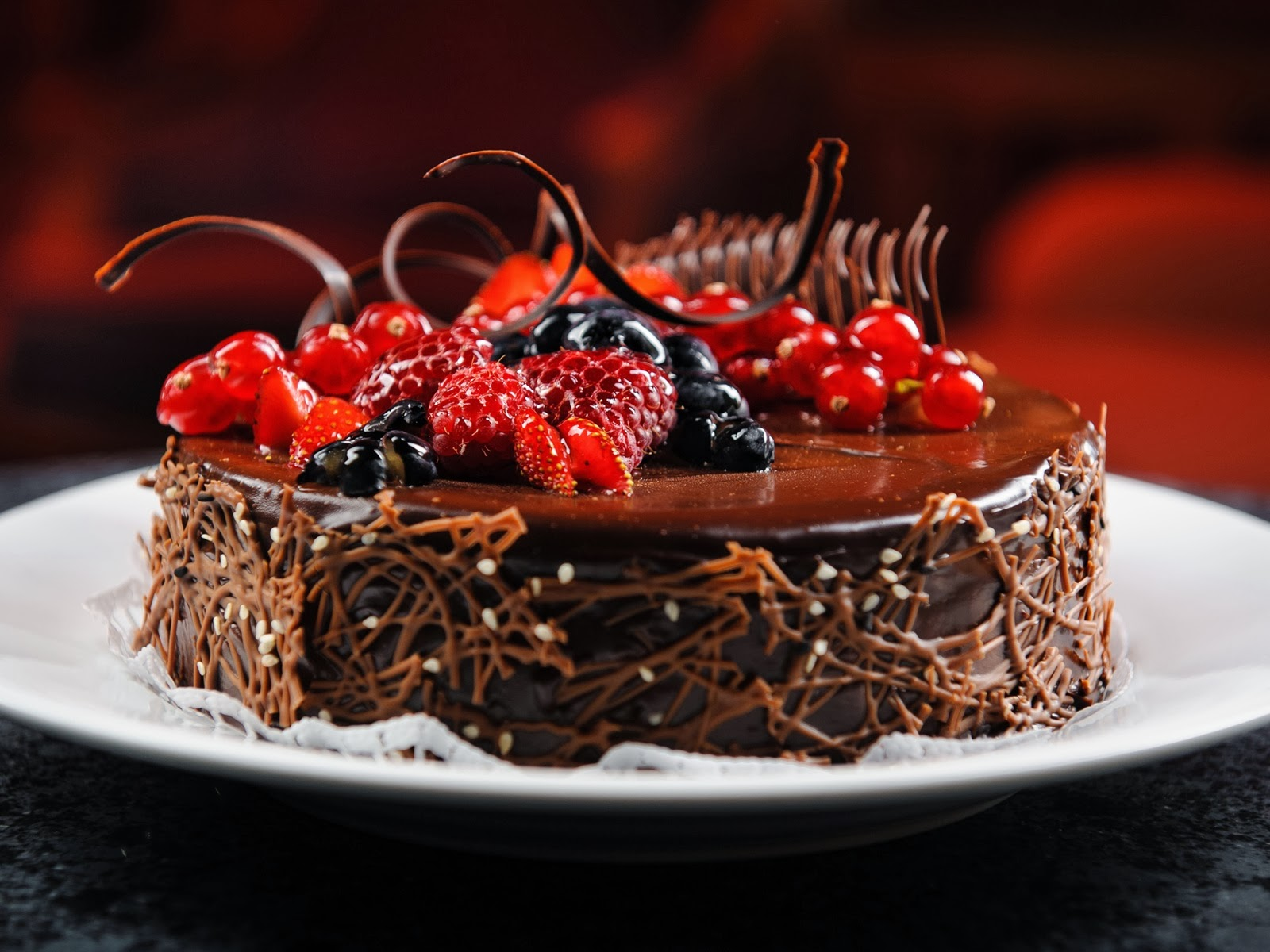 Chocolate Cake HD Wallpapers Free Download ~ Unique Wallpapers
