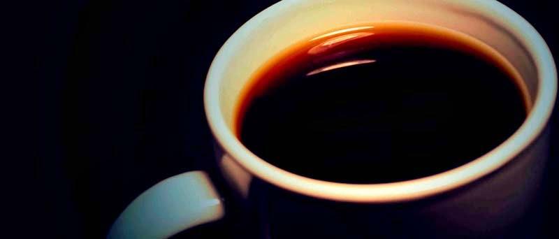 Taza de café o tinto.