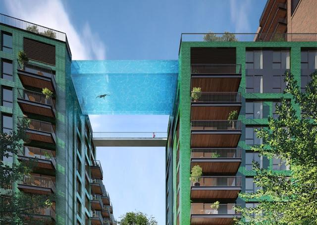 Hily designs la piscina suspendida sky pool puede ser una for Alberca cristal londres