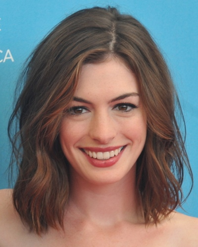 casual hairstyles. Anne Hathaway Hairstyle