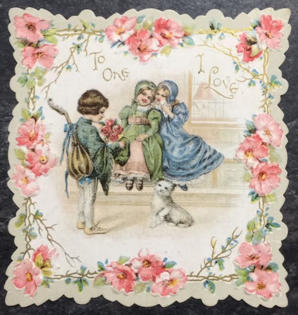 Check It Out Archives Display Victorian Valentines