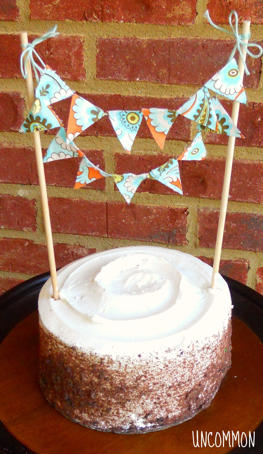 Sweet and Easy Cake Bunting A Tutorial Uncommon Designs