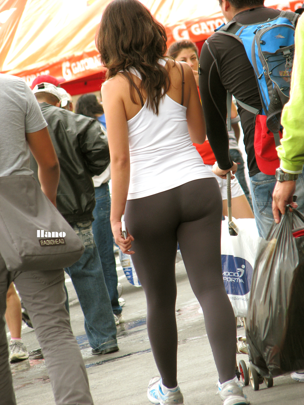Hot ass from behind