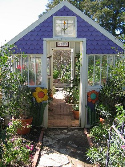 Pretty Garden Shed Greenhouse From Fadedprairie.com