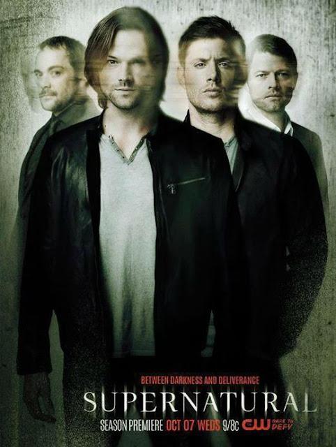 Poster Supernatural 11 temporada