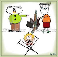 O vovô que trocava palavras: trocou carteira por espingarda e assustou o rapaz de muletas
