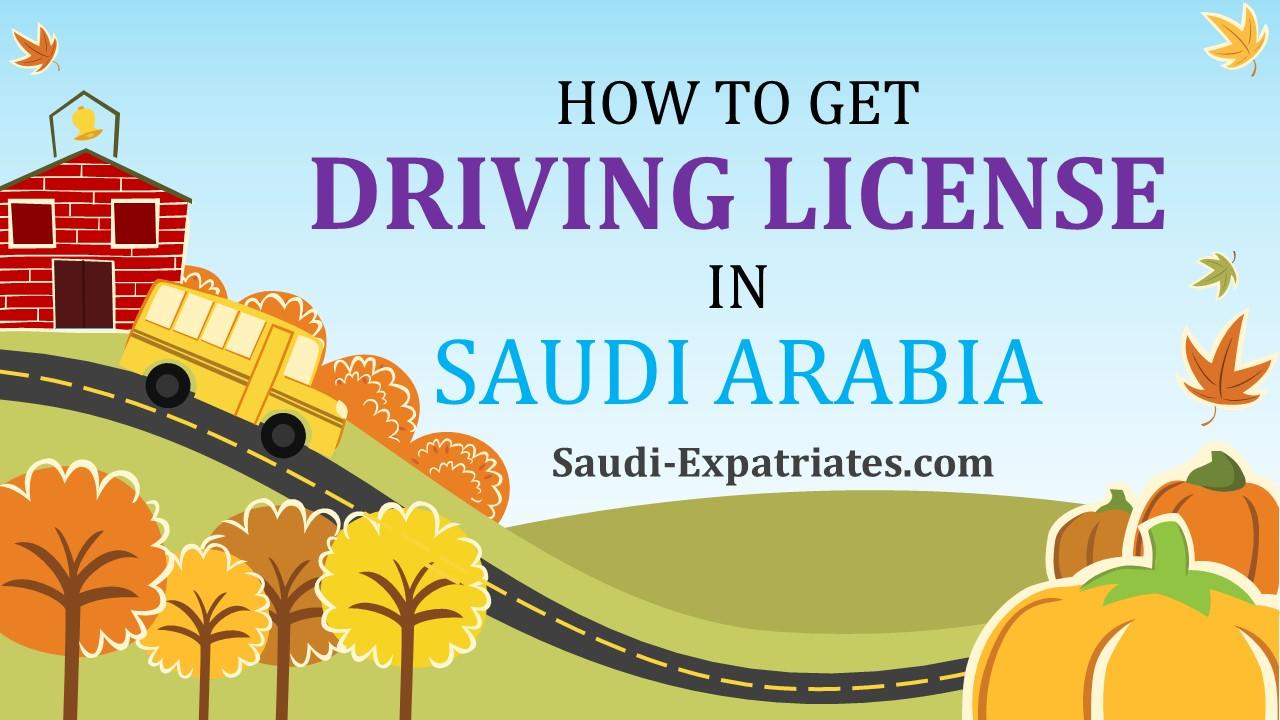 Driving license saudi arabia