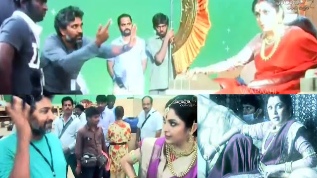 Ramya Krishna As Sivagami Making Video | Baahubali | Prabhas | SS Rajamouli