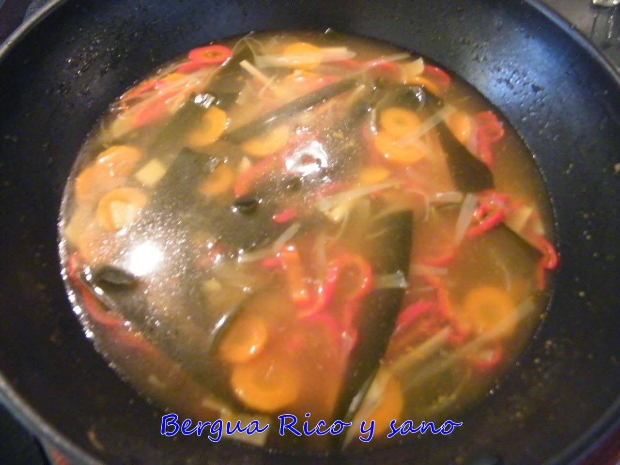 Comer rico y sano: Sopa cítrica japonesa (Dashi) - photo#8
