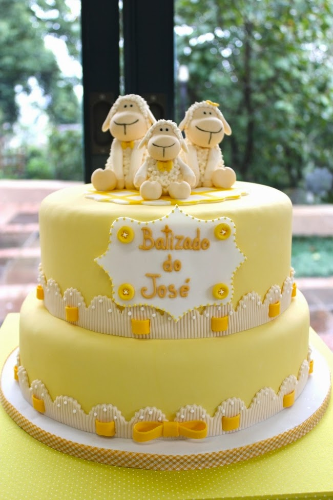 Sweet Sheep Boy's Christening Party {Baptism Ideas}