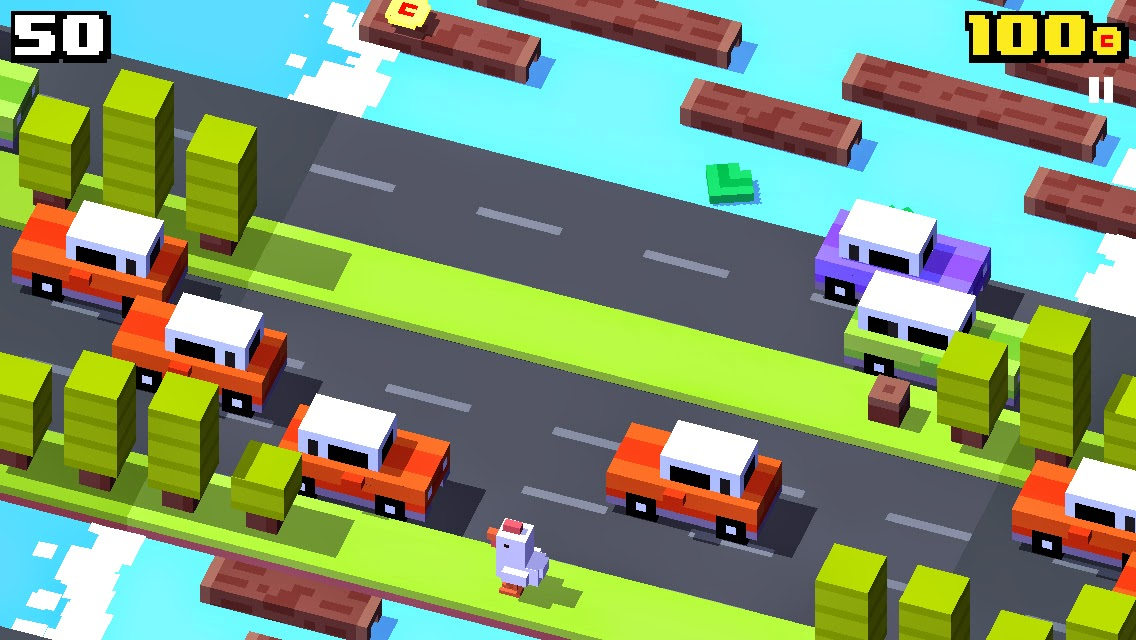 Crossy Road Made With Unity