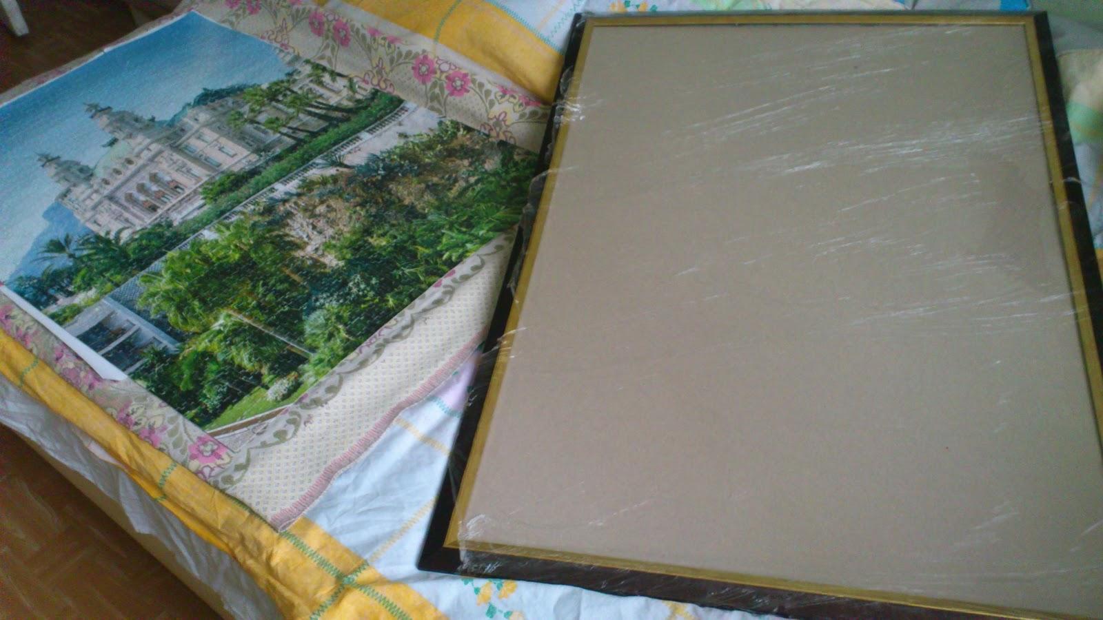 Как сделать картину из пазлов в рамку - популярные записи - 7я.ру 13