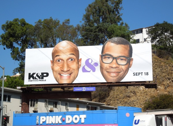 Key and Peele season 3 Comedy Central billboard