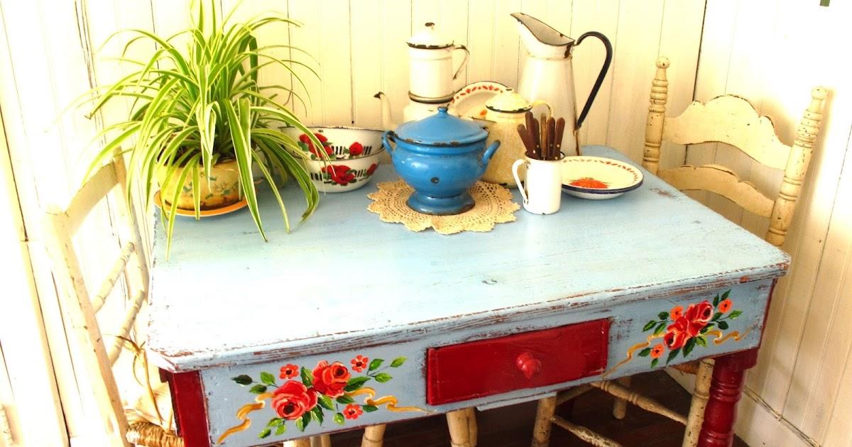 Las vidalas mesa bien de campo - Mesa de campo ...