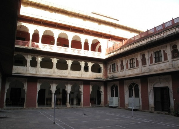 Brij Raj Bhawan Internal View
