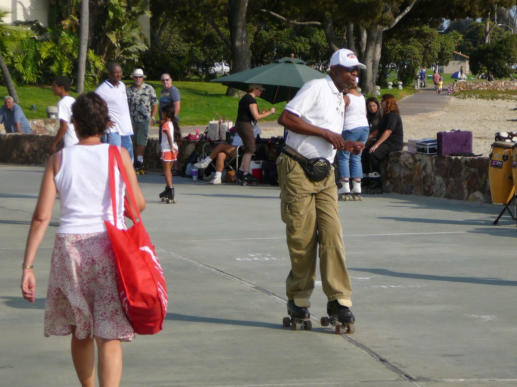 Skating At Mission Bay Park