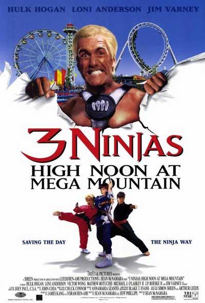 3 ninjas en el parque de atracciones (1998) DVDRip Latino