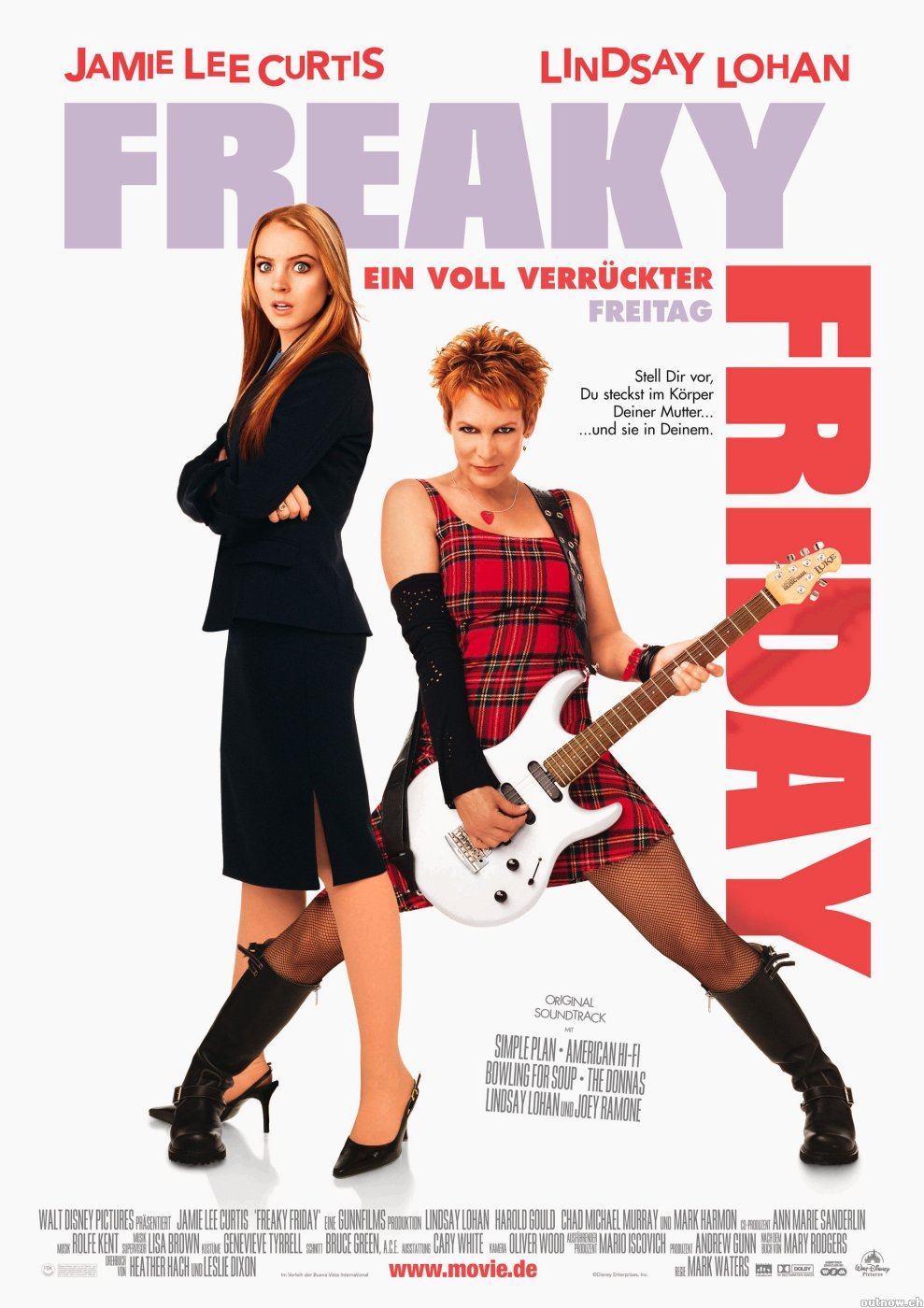 isfa book and film reviews freaky friday