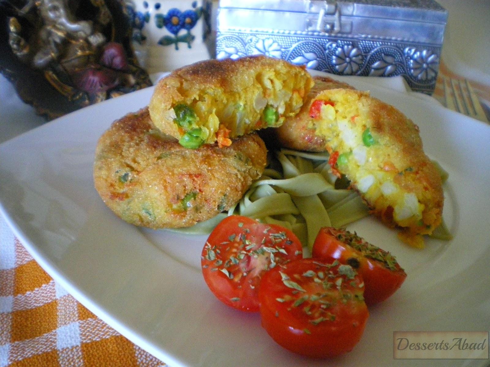 Tortitas de patata indias