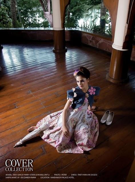 May Grace,myanmar models