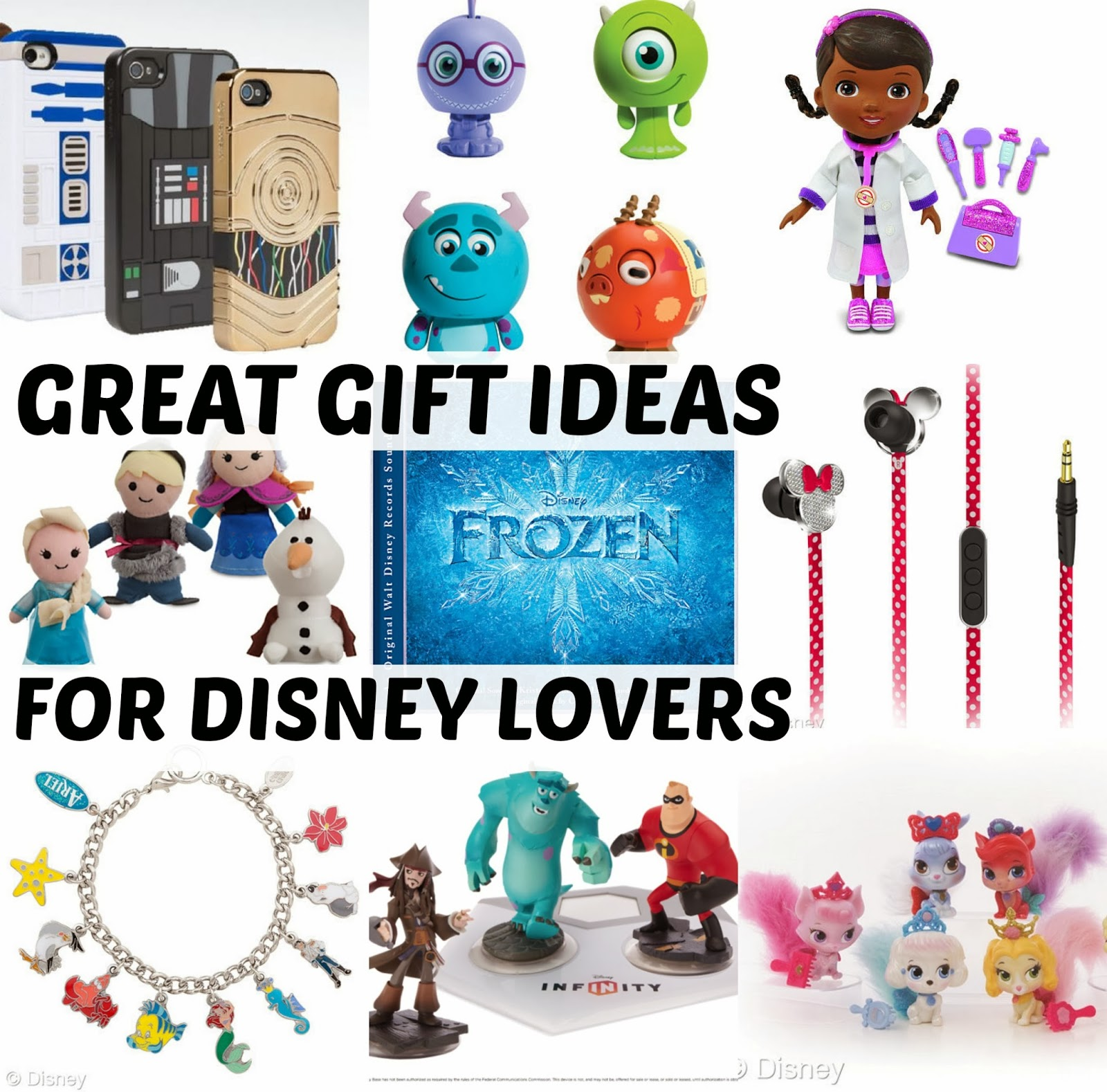 Earphones charm bracelets music and Disney Infinity figures are perfect for any gift all year long.  sc 1 st  Disney Sisters & Disney Sisters: Great Gift Ideas for Disney Lovers