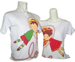 Model Kaos Pasangan Couple