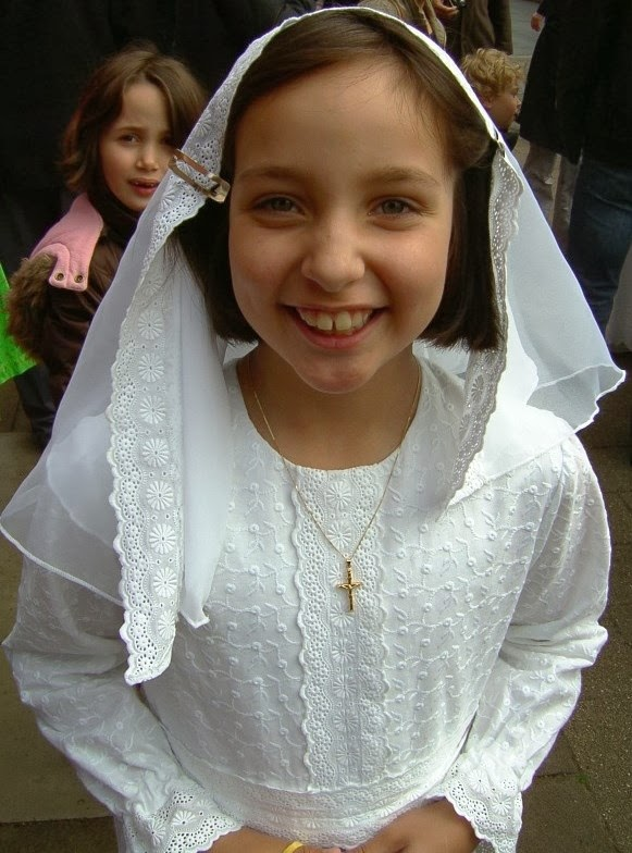 Joy of First Holy Communion!