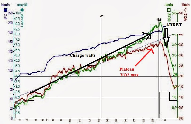 Alban lorenzini coaching vo2 max l 39 preuve du temps - Test vo2max sur tapis roulant ...