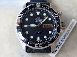 ORIENT DIVER 200m BLACK MAKO3 - AUTOMATIC