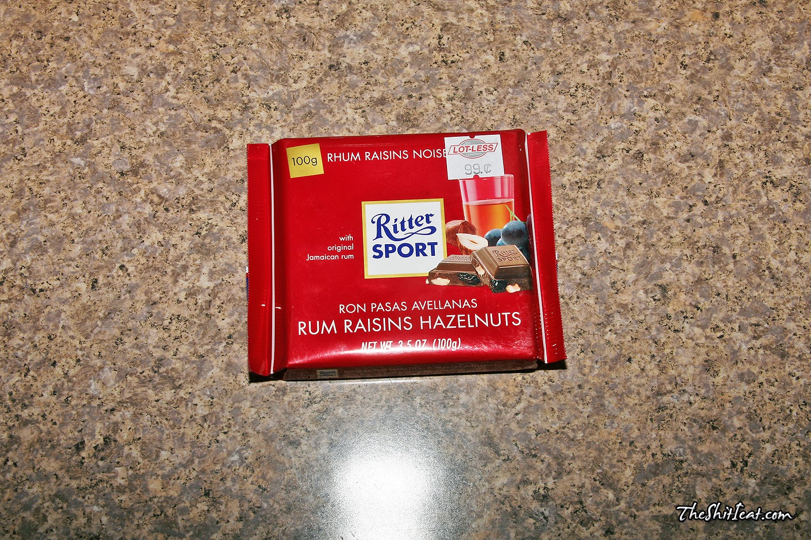 the shit i eat rum raisins hazelnuts ritter sport. Black Bedroom Furniture Sets. Home Design Ideas