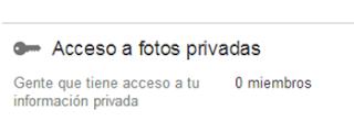 acceso fotos privadas