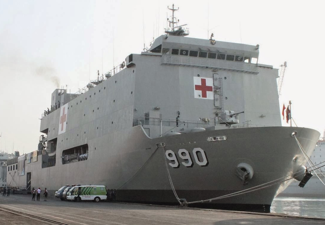 Kapal rumah sakit KRI Dr Soeharso